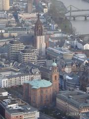 St. Paul's Church & Bartholomeus' Cathedral (GD20) Tags: germany frankfurtammain mainhatten
