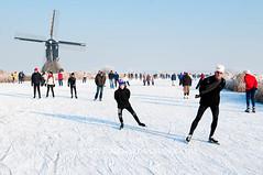 090110Molentocht9388 (richardvanhoek) Tags: nederland molentocht ijs schaatsen vorst streefkerk winterweer vriezen schaatstocht winterijspret