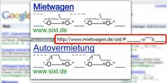 Match ASCII URL with AdWords