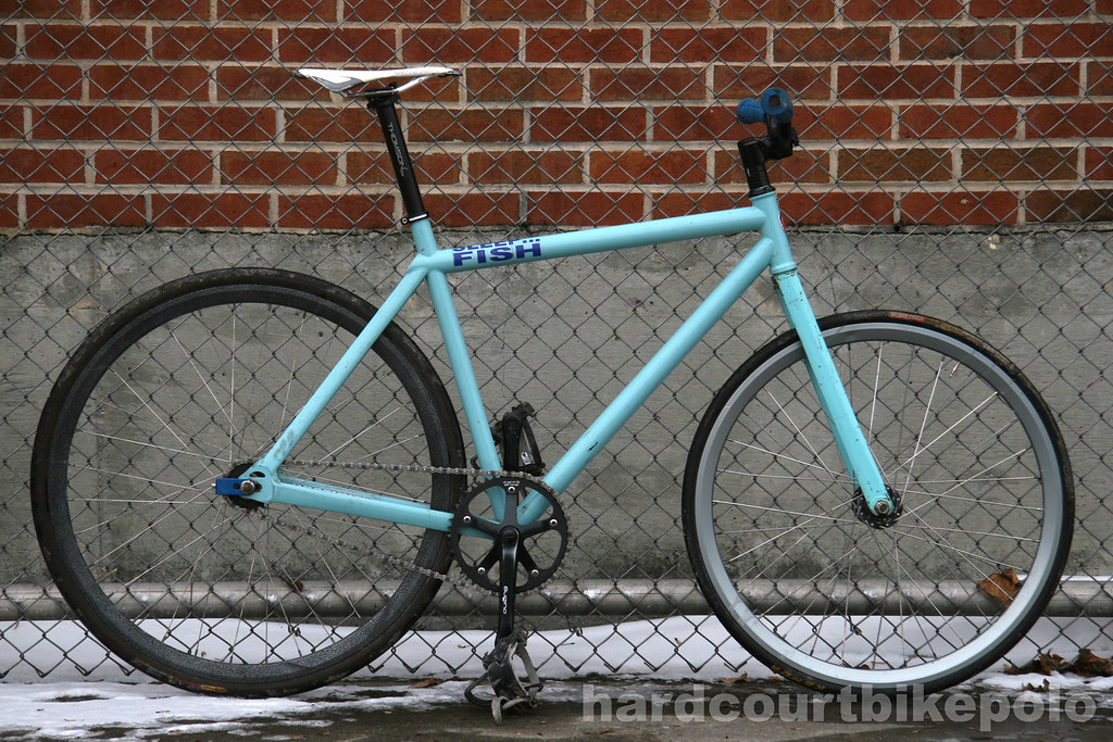 Jake's Brooklyn Machine Works hardcourt polo bike full