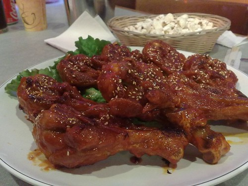 Hot Spicy Sauce Chicken