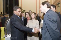 President Musharraf at the World Affairs Council (World Affairs Council of Philadelphia) Tags: pakistan philadelphia 2009 franklininstitute pervezmusharraf worldaffairscouncil january2009 claudiamcbride margaretlonzetta worldaffairscouncilofphiladelphia