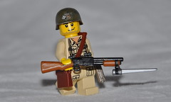Trench Gun (The Ranger of Awesomeness) Tags: lego wwii bayonet brickarms trenchgun