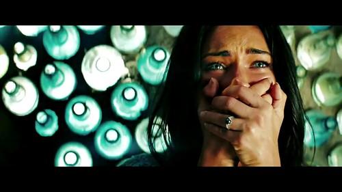Transformers 2 Megan Fox asustada