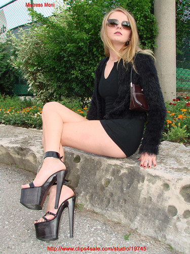 High Heels & Micro Dress