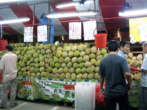 the durian stand