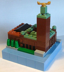 Stockholm City Hall (Etzel87) Tags: building scale lego sweden stockholm micro