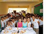 Entrega Fardamentos em Sao Vicente - Itapetim PE - CAPA by portaljp