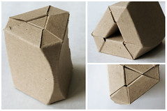 project 3 - cardboard stool - 2 (KingmanA166) Tags: art spring cardboard stool ac 166 2011