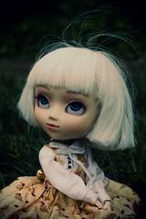 The Storm II (* L o r y a n a) Tags: blue white court milk eyes doll dolls dress turquoise cm melody planning 25 wig groove pullip custom custo jun sbh obitsu rewigged acryliceyes azazelle