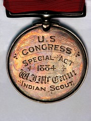 Ute Indian Medal.Obverse