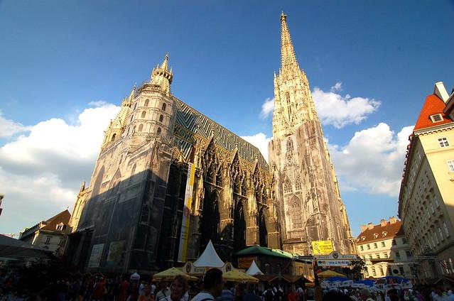 Stephansdom Wien 聖史蒂芬教堂