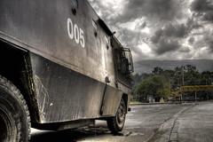 Civil War (-Passenger-) Tags: public freedom university cops police passenger press riots protests hdr detention cruzadas universidaddeantioquia udea esmad