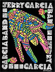 Jerry Garcia Band - colorful hand dealie