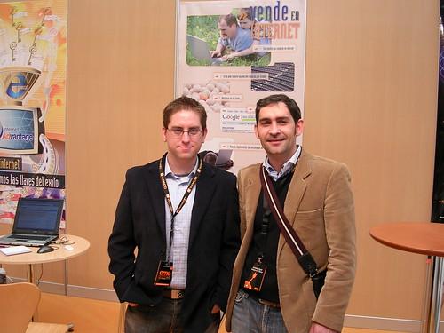 Marcos Maceira y yo en el OME 2008
