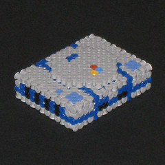 Sony Playstation 3D Bead Sprite (Doctor Octoroc) Tags: sony videogames console playstation sonyplaystation hamabeads perlerbeads beadsprite doctoroctoroc
