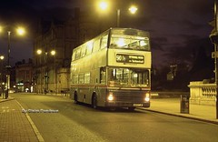 Night Rider. (Lady Wulfrun) Tags: street travel light west night evening shot upper midlands lichfield wolverhampton metrobus 501 3105 tettenhall nk2 mk2a g105fjw