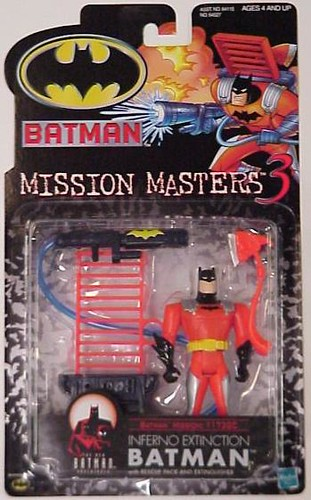 Mission Masters 3: Inferno Extinction Batman action figure