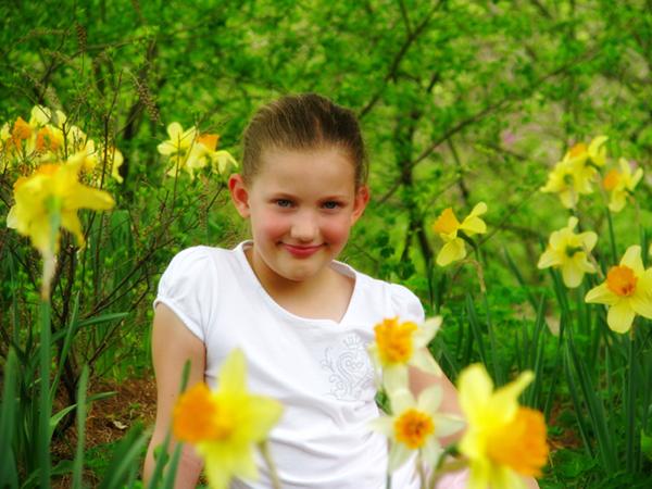 sophia's daffodils flickr