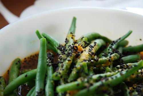 Mandarin-Sesame Green Beans
