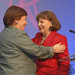 Newly Elected Board Chair Margery Kraus (APCO Worldwide) & WPO Founder Marsha Firestone, Ph.D.