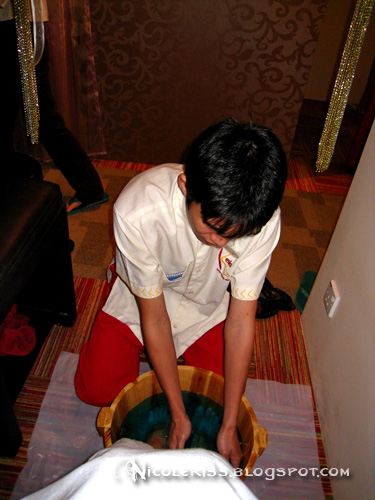 foot bath massuer