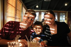 Travis, Aidan, and Trisha (Mariano Peterson) Tags: dinner aidan travis peterson trisha chilis cripps