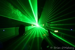 Blinded By The Light! (Brian O'Mahony) Tags: green manchester photography cool photographer noflash event lasers techno trance musicbox lazers tangled thelight dancemusic adamsheridan brianomahony garethemery progessive thephotographiceye