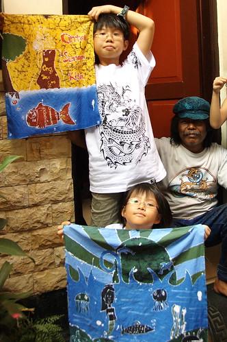 Batik with the Guru