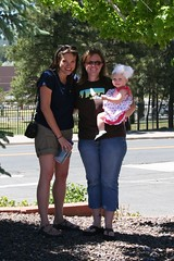 In Flagstaff with Kristi and Shannon