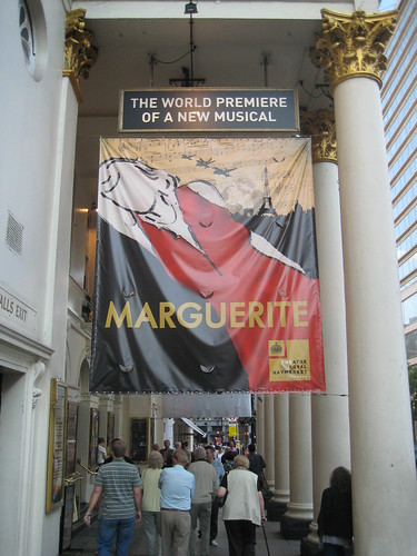 Marguerite the musical at Haymarket