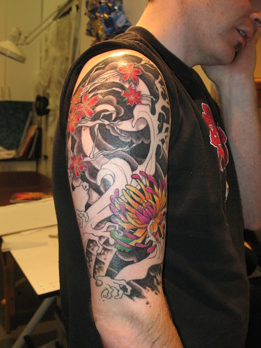 Frequently referred to as arm tattoos, wholesale tattoos sleeve are a craze