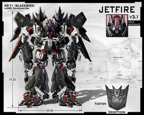 Jetfire Transformers 2: Revenge of the Fallen