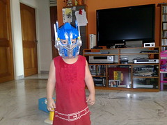 Optimus Joy: Baby Autobot