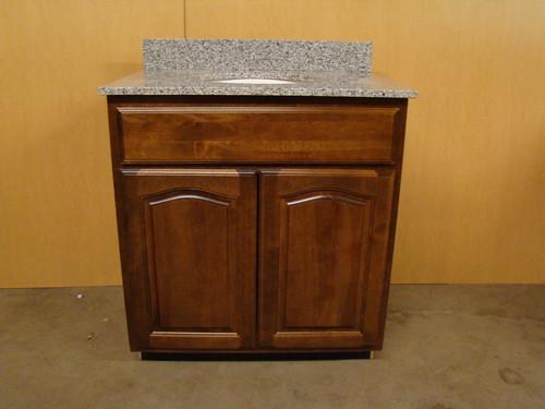 details about kraftmaid birch bathroom vanity sink base cabinet 30