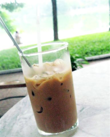 iced coffee in Hanoi