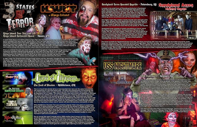 New Hauntworld Mag. Pages... KI/HH...