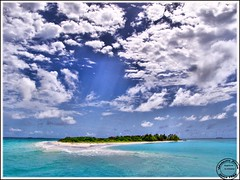 Maldives (Prof EuLOGist) Tags: sea white beach birds clouds 1 postcard archives series maldives atoll jinan hussain raa