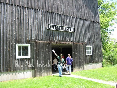 Harden Museum entrance