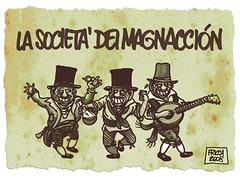 M41 Folk Italia (rodo.dentro) Tags: vignette satira filippo emme ricca societ magnaccioni intercettazioni rododentro fricca belrusconi