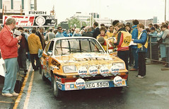 Russell Brookes (RS Pictures) Tags: holiday 35mm for 1982 inn andrews russell rally arnold scottish scan clark heat hsr brookes hire vauxhall chevette