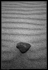 Zen (tor_star) Tags: blackandwhite bw white black beach rock stone swansea wales contrast sand peace ripple dunes grain tranquility pebble zen gower blackdiamond blackwhitephotos