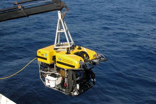 採集珊瑚之遙控載具