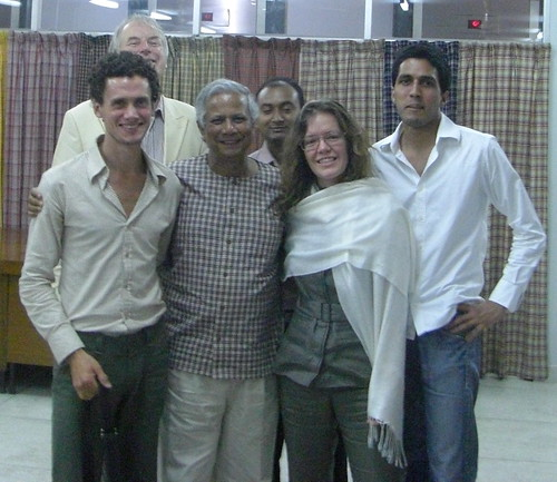 The Dhaka 5 With Yunus @ Grameen HQ