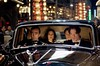 Jonathan (JOHN HANNAH) drives sister Evelyn (MARIA BELLO), nephew Alex (LUKE FORD) and brother-in-law Rick OConnell (BRENDAN FRASER)