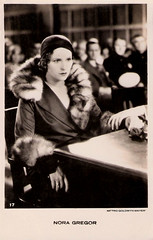 Nora Gregor (Truus, Bob & Jan too!) Tags: cinema film vintage movie fur star kino european action postcard picture cine screen nora actress movies postal mgm trial gregor postale cartolina carte austrian postkarte filmstar ansichtkaart filmster metrogoldwynmayer tarjet noragregor