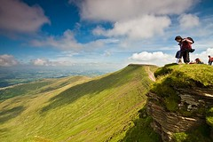 On top of the World Looking Down (Sean Bolton (no longer active)) Tags: wales james cymru brecon beacons penyfan seanbolton ffotocymrucouk