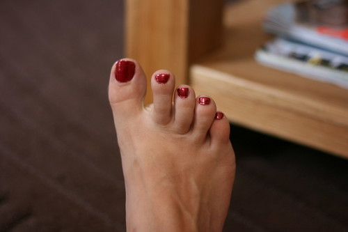 28th July 2008: Pretty toes