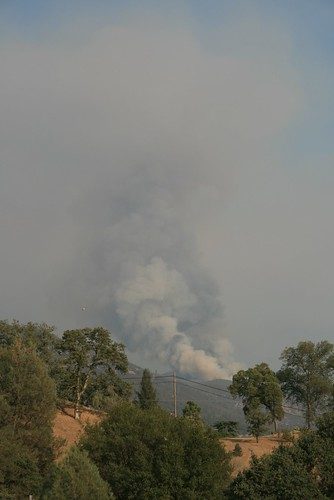 Wildfire Outside Yosemite