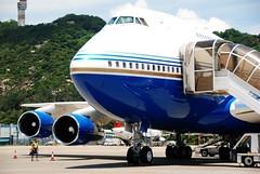 B747SP (MelindaChan ^..^) Tags: private airport aircraft flight jet aeroplane mel venetian boeing melinda macau macauinternationalairport golddragon b747sp chanmelmel melindachan